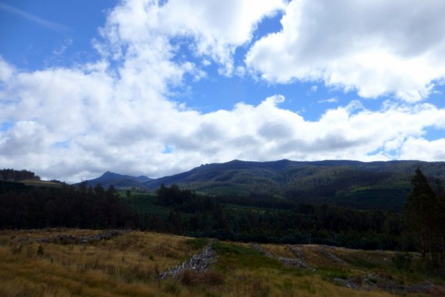 hobart to devenport via central highlands